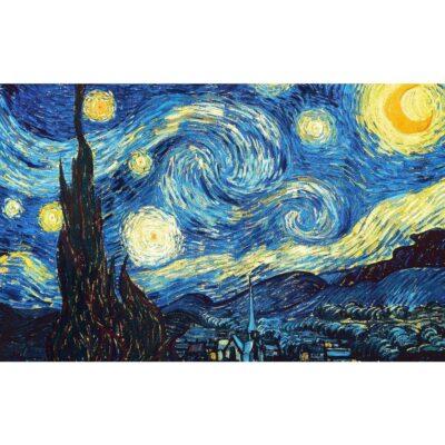 """Imán Gigante de Nevera """"la Noche Estrellada"""" de Van Gogh RETRO/VINTAGE SOUVENIRS Frigo Imanes"""